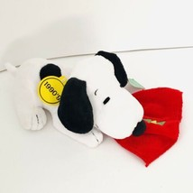 "New Peanuts Snoopy Plush Celebrate 60 Years 1990's Decade Sitting Animal Toy 10"" - $10.79"