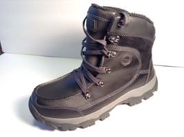Men's BASS WATERPROOF Snow RAIN Ankle Boots 12 Black- Retail$185 SHERPA ... - $191.09