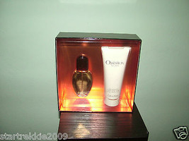 Obsession For Men By Calvin Klein 2 Pc EDT Set .NIB 100% Authentic. - $37.99