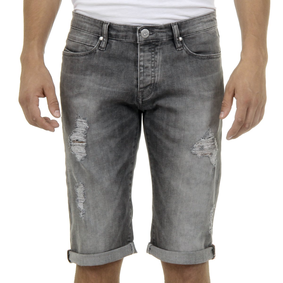 Primary image for Andrew Charles Mens Jeans Grey JAN