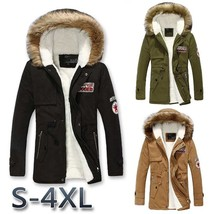 New Style Men Parka Winter Coats Casual Fashion Mens Winter Jackets Stan... - $57.94