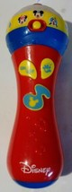 Disney Junior Mickey Mouse Clubhouse My First Microphone Sing Along Toy - $8.00