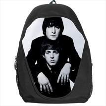 backpack beatle paul mccartney john lennon rock band cult school bag - $39.79