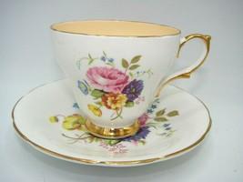 AUTHENTIC #3423  Sutherland H&M Bone China Tea cup & Saucer  - $17.75