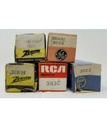 Lot of 5 Electronic Tube Vacuum 1G3CTA,3DA3,3CN3B,3A3C,1DG3 B - $10.88