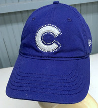 Chicago Cubs Bedazzled Small or YOUTH Strapback Baseball Cap Hat - £11.04 GBP
