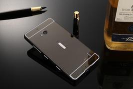 Lumia 930 Case Plating Mirror Aluminum Metal Bumper + Hard PC Back Cover For Mic image 2