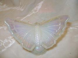Fenton Art Glass Opal Iridescent Butterfly  - $48.37