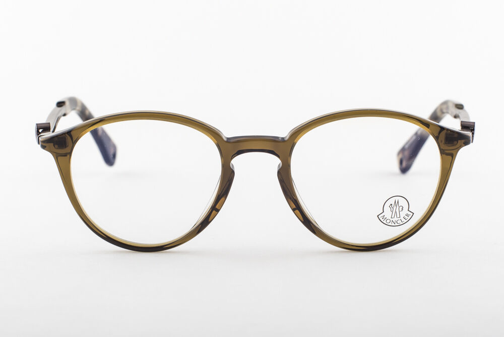 MONCLER MC015-V04 Green Eyeglasses MC 015-V04 49mm