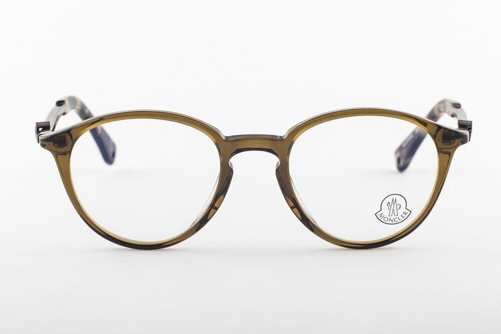MONCLER MC015-V04 Green Eyeglasses MC 015-V04 49mm image 2