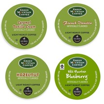 Green Mountain Flavored Variety Pack Coffee 22 to 132 Keurig Kcups Pick Any Size - $19.98+