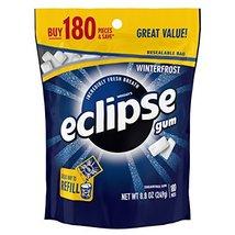 ECLIPSE Winterfrost Sugarfree Gum, 8.8-Ounce 180 piece bag - $17.72