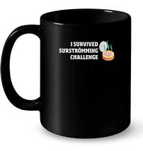 I Survived Surstromming Challenge Stinky Fish Ceramic Mug - $13.99+