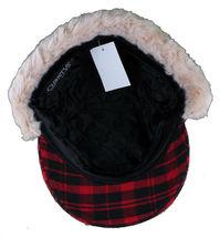 "Christys Crown ""Hunter"" Plaid Faux Shearling Ear Flap Cap Hat Medium/Large NWT image 7"