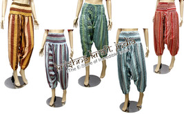 Gypsy Wholesale Lot 25Pc Stripes Harem Pants Baggy Genie Trouser Boho - $139.98