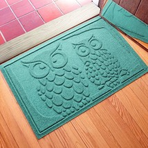 Aqua Shield Owls Doormat, 2 ft. x 3 ft., Aquamarine - $55.40