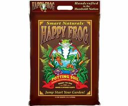 FoxFarm Happy Frog Potting Soil Container Mycorrhizae And Humic Acid 12 Qt - $31.71