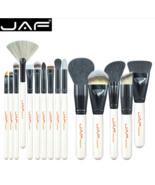 JAF® Makeup Brush 15 PCS Set Professional Beauty Blush Foundation Contou... - $26.31