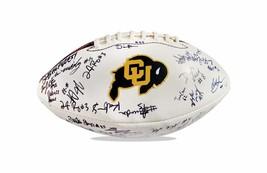 2012 Colorado Buffaloes autographed team football - $203.94