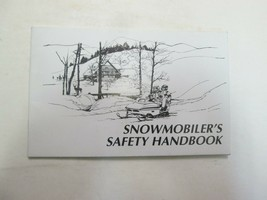 2002 Snowmobilers Safety Handbook Manual FACTORY OEM BOOK 02 - $19.79