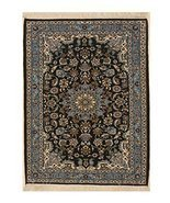 EORC X36037 Hand-knotted Wool Esfahan Rug, 2'5 x 3'2, Blue - £1,383.37 GBP