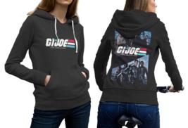 G.I. Joe Black Cotton Hoodie For Women - $29.99+