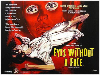 Primary image for Eyes Without A Face - 1960 - Movie Poster