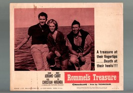 ROMMEL'S TREASURE-LC-GD/VG-ACTION-DRAMA-ADVENTURE-ADDAMS-CABOT-CHRISTIAN... - $20.08