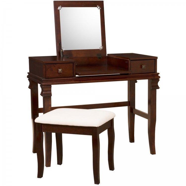 Makeup Vanity Table Set Dressing Cosmetics Desk Mirror