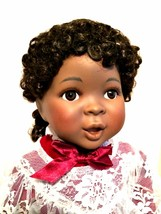 African American Doll Amazing Grace Ashton Drake Porcelain New in Box 17... - $123.74