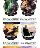 RA Salvatore LEGEND OF DRIZZT 25th Anniversary COMPLETE Series 1-13 in 4... - $62.99