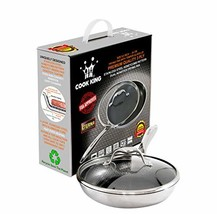 COOK KING 9.5 Inch Tri-Ply Stainless Steel Honeycomb Non-Stick Frying Pan - $93.14