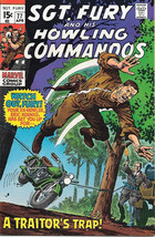Sgt. Fury and His Howling Commandos Comic Book #77 Marvel 1970 VERY FINE+ - $21.20