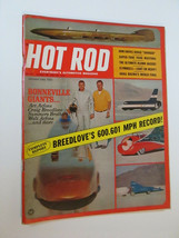 Vtg Hot Rod Car Magazine - January 1966 Rat ROD (Breedlove's 600.601 MPH... - $8.00