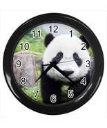 Cute Baby Panda Wall Clock - $17.41