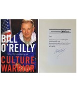 Bill O'Reilly Signed 2006 Culture Warrior 1st Edition Hardcover Book - $59.39