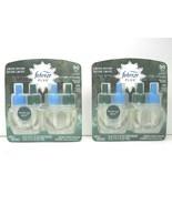 2 Febreze Plug Limited Edition Fresh Cut Pine Dual Oil Refill Air Freshe... - $31.67