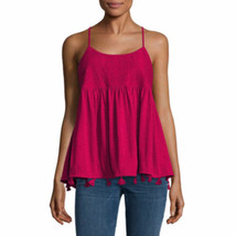 a.n.a. Women's Knit Tank Top Cami Lush Berry Color Size X-SMALL New - $28.70