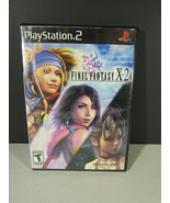 Final Fantasy X-2 PlayStation 2 PS2 Game Complete CIB - $9.89