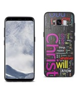 Reiko Samsung Galaxy S8 Design Tpu Case With Vibrant Word Cloud Jesus Le... - $8.10