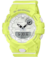 Casio G-Shock G-Squad Lime Green Bluetooth Midsize Womens Watch GMAB800-9A - $94.95