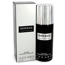 Silver Black By Azzaro Deodorant Spray 5.1 Oz For Men - $30.86