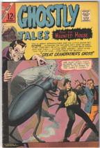 Ghostly Tales Comic Book #58, Charlton Comics 1966 FINE - $16.39