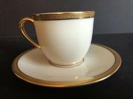 Lenox Tuxedo Espresso Coffee Cup & Saucer Set - $44.55