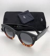 New CELINE Sunglasses CL 41425/S FU5W2 44-25 145 Tortoise & Black w/ Gre... - $399.98