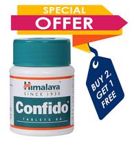Himalaya CONFIDO Tablets 60 Counts Augments SEMEN count,Buy 2 Get 1 Free - $9.42