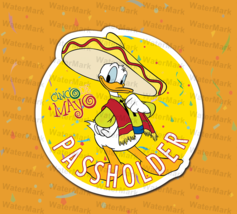 Homemade MAGNET Walt Disney Donald Duck Cinco de Mayo edition AP Magnet (Fan-Art - $8.95