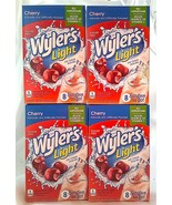 CHERRY Wyler's Light Singles To Go 4 Boxes 8 Ea 32 Packets Sugar-Free Dr... - $8.95
