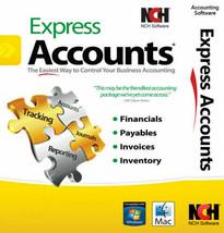 NCH Express Accounts Accounting Software - $69.95