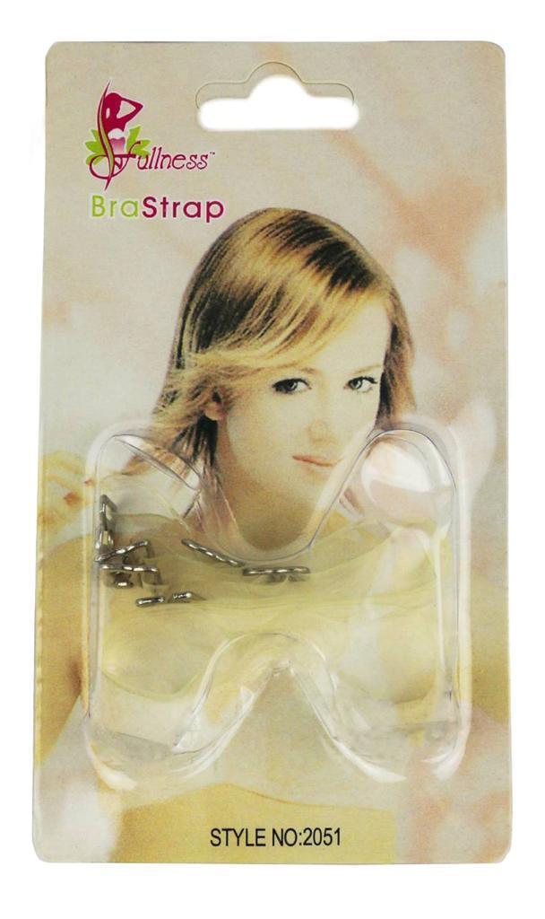 NEW WOMEN'S FULLNESS CLEAR INVISIBLE BRA STRAPS FOR STRAPLESS CLOTHING 2051